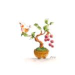 小鳥と盆栽10