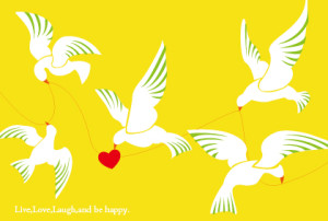 wedding-happy bird